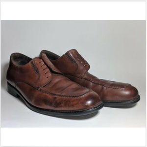 Johnston & Murphy XC4 Suffolk Moc Lace-up Mahogany
